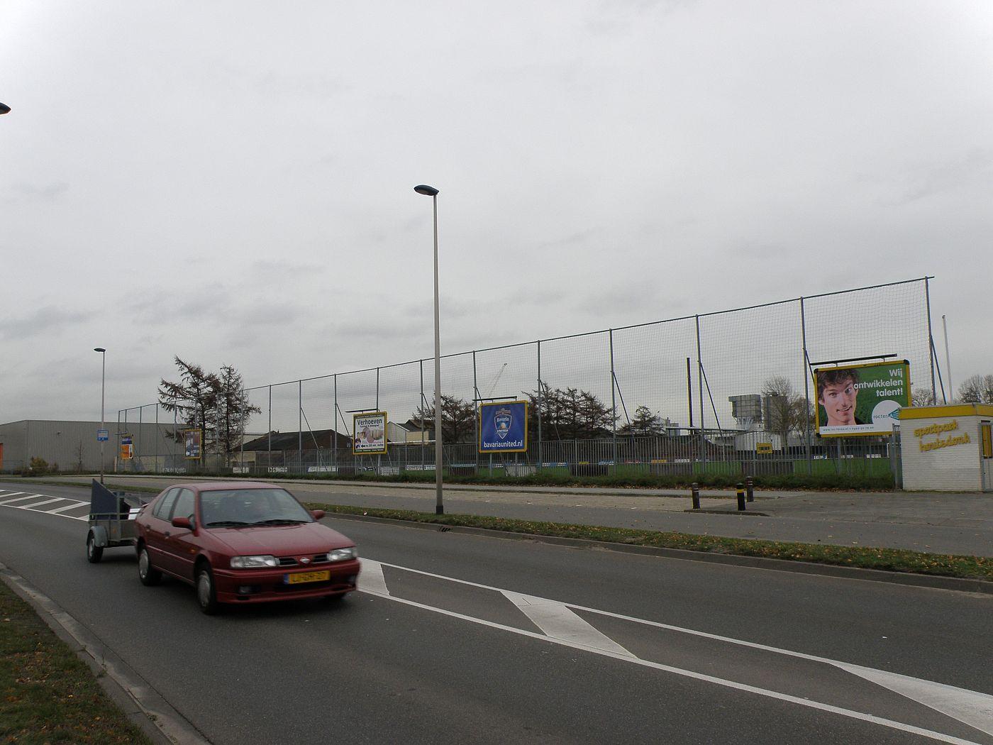 Nieuwe Billboard verlichting - Voetbalvereniging HVV Helmond